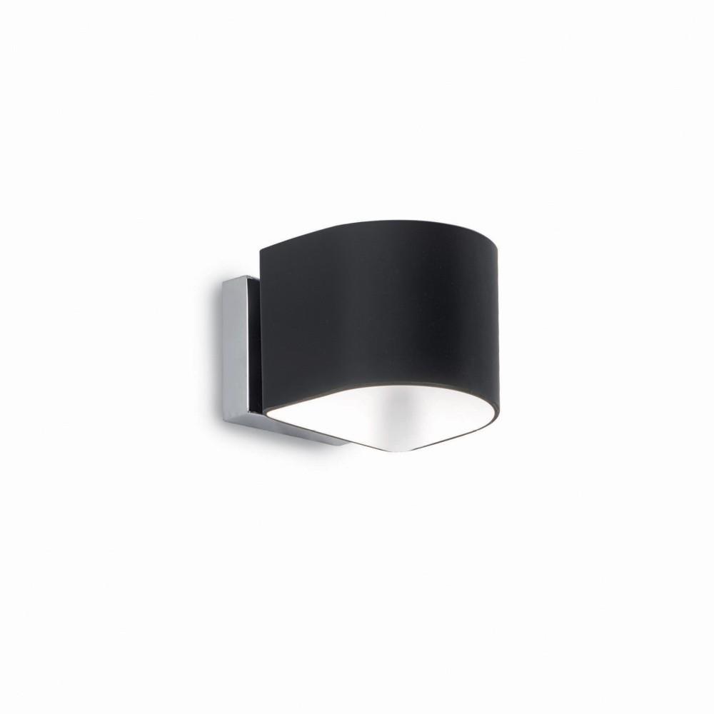 Čierne nástenné svietidlo Evergreen Lights Sanity