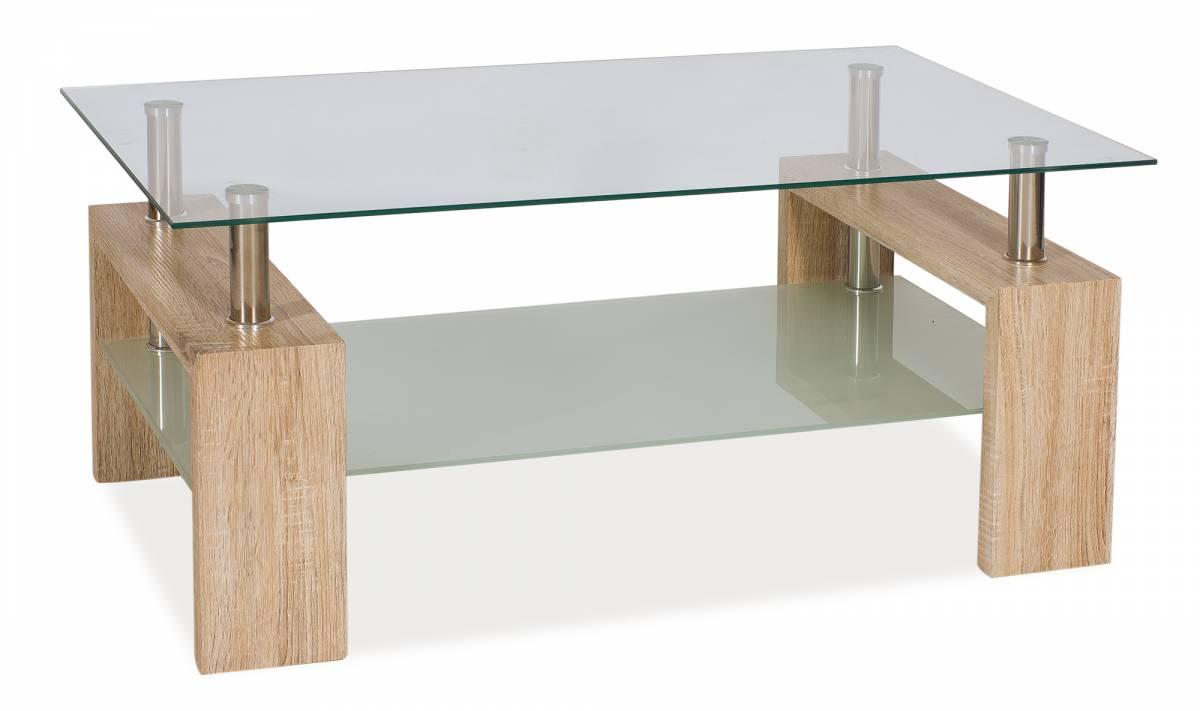 Konferenčný stolík Lisa II (dub san remo)
