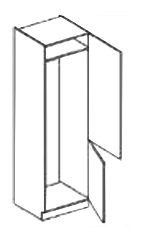 >> ANDY skrinka na vstavanú chladničku DL60 P/L