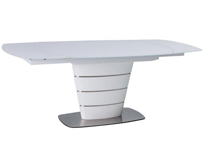 MARCUS jedálenský stôl 100x140 cm, biely lesk