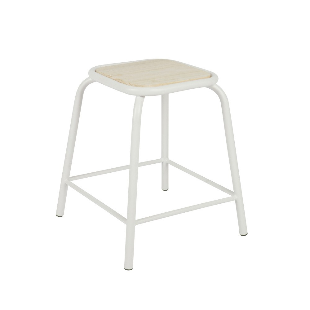 Biela stolička De Eekhoorn Nina