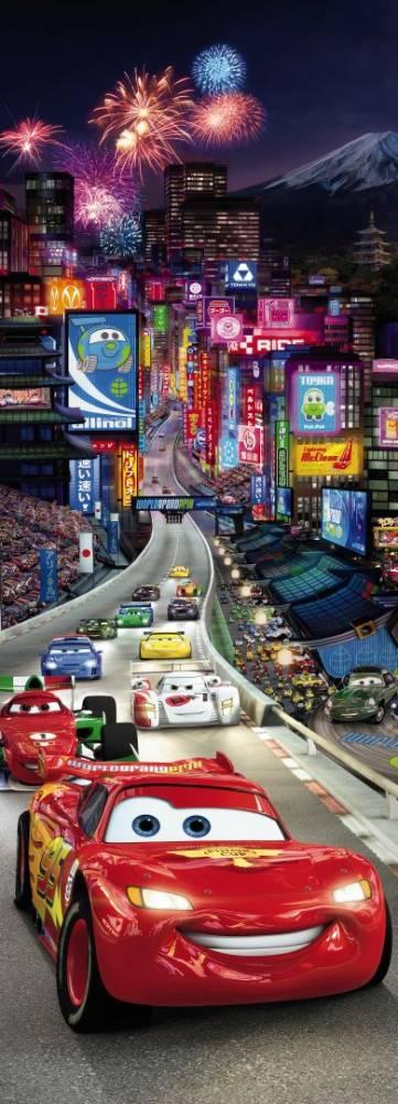Fototapeta DISNEY 404 1-dielna Cars Tokyo 202x73 cm