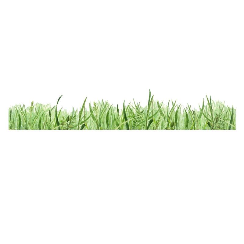 Samolepka na viac použití Grass Border