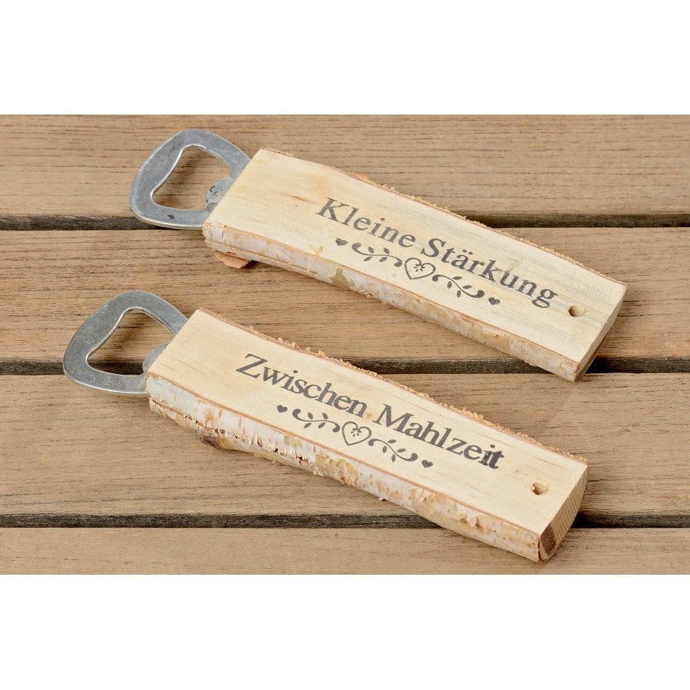 Sada 2 otváračov z brezového dreva Boltze Susen