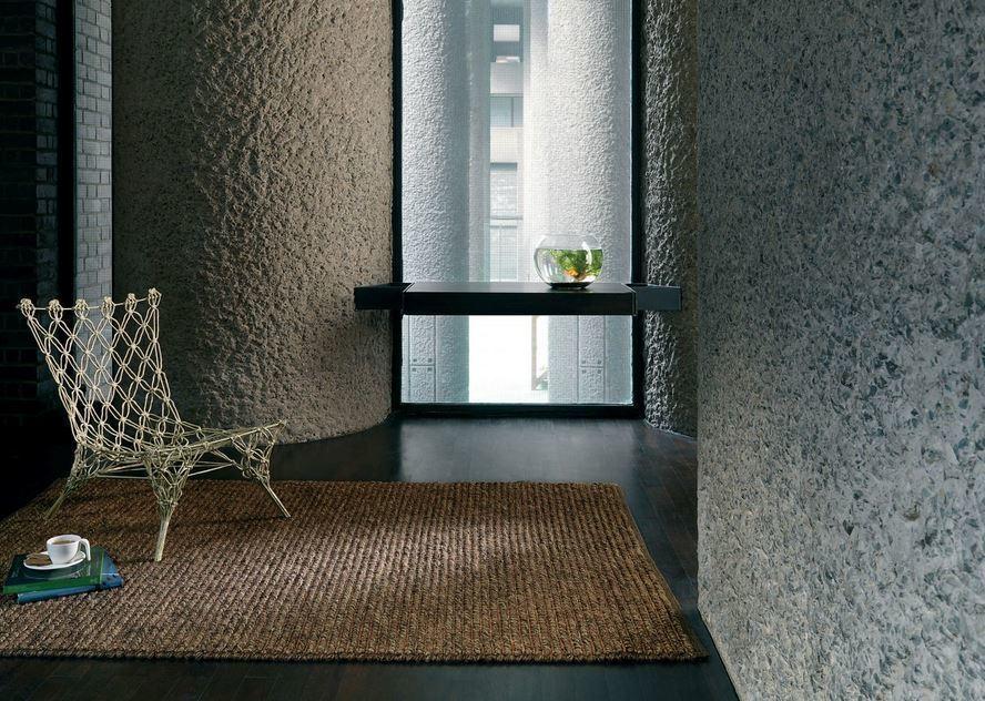 Jute Loop koberec - hnedá