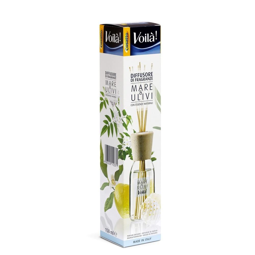 Vonný difuzér s vôňou mora a olivového dreva Cosatto Perfume