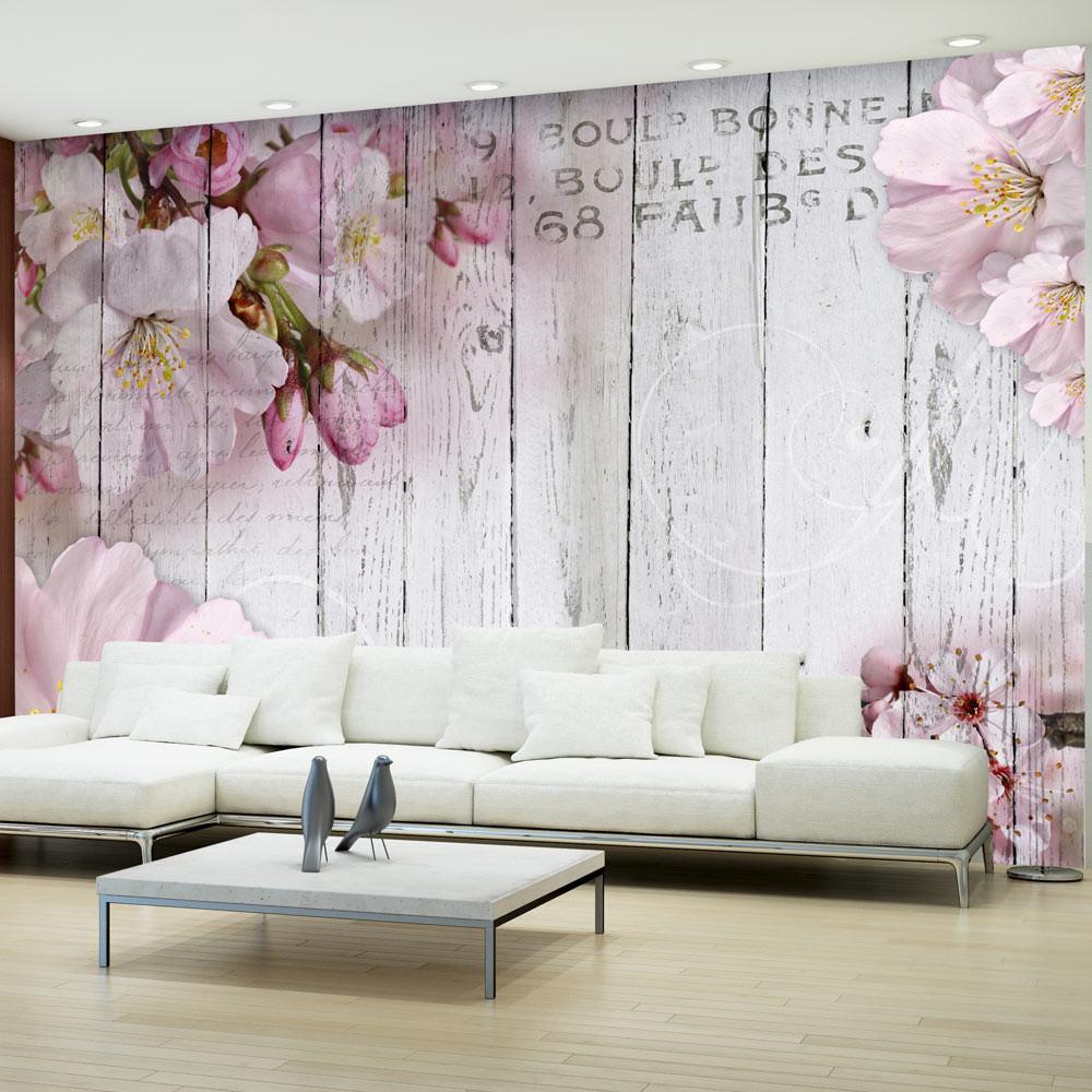 Veľkoformátová tapeta Bimago Apple Blossoms, 300x210 cm
