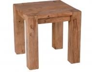 Furniture nábytok  Masívny konferenčný stolík z Palisanderu Fattáh  40x40x45 cm