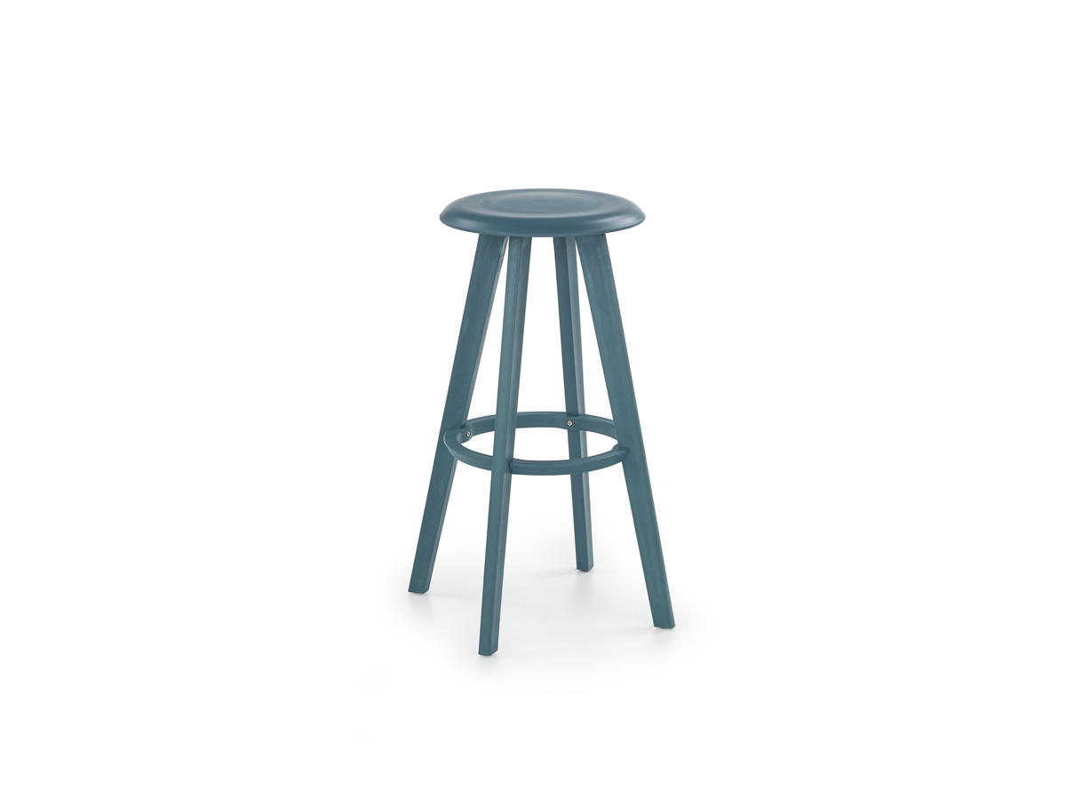 Barová stolička H-77 (tyrkysová)