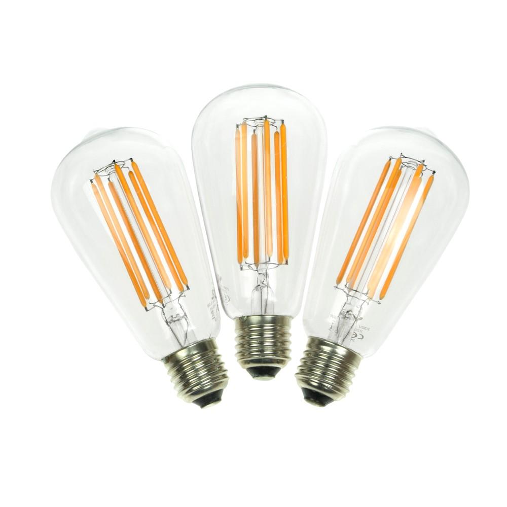 Sada 3 LED žiaroviek Bulb Attack MARINE Linear, 6,5 W