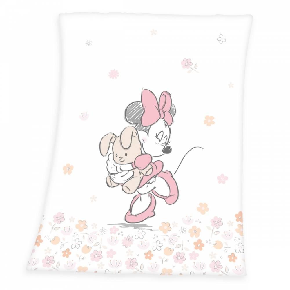 Herding Detská deka Minnie Mouse, 75 x 100 cm