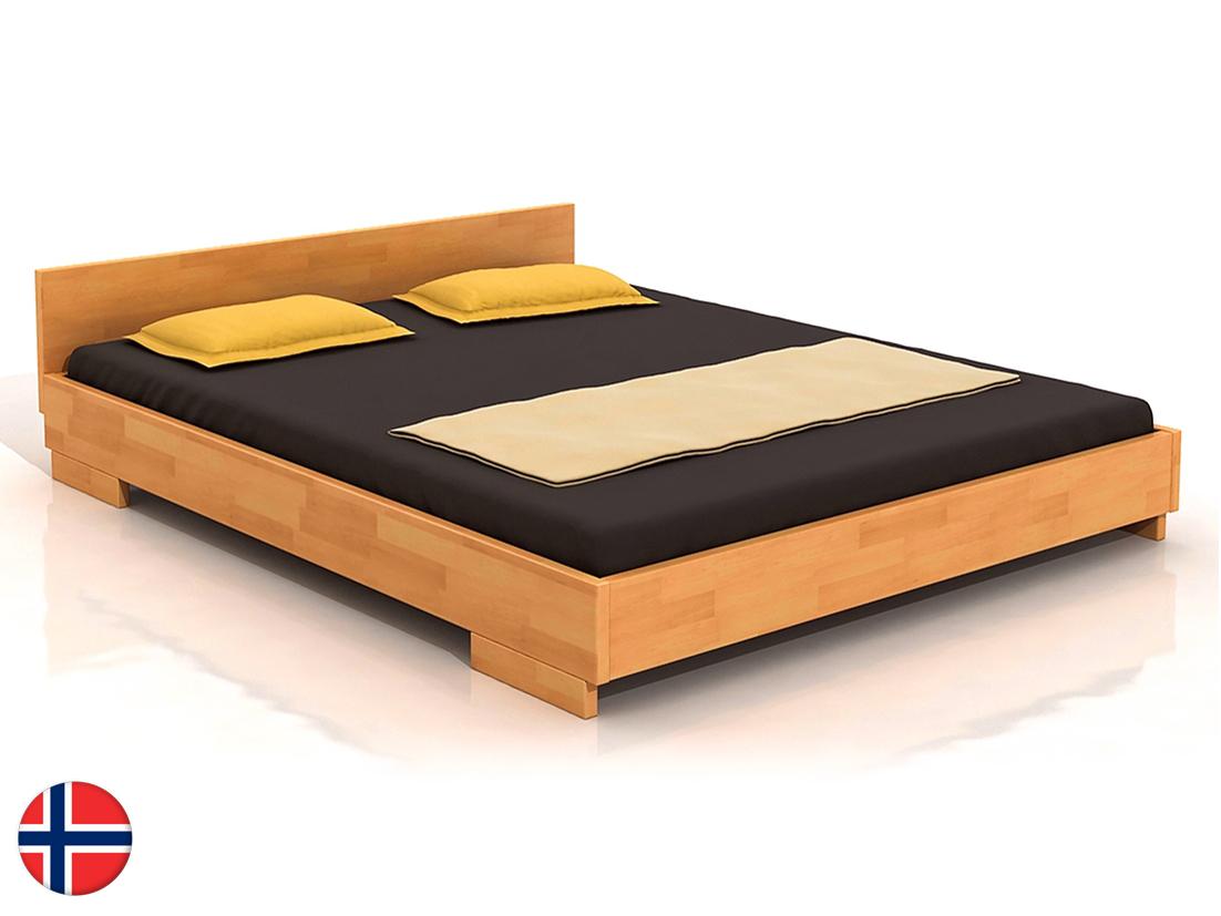 Manželská posteľ 200 cm Naturlig Larsos (buk) (s roštom)