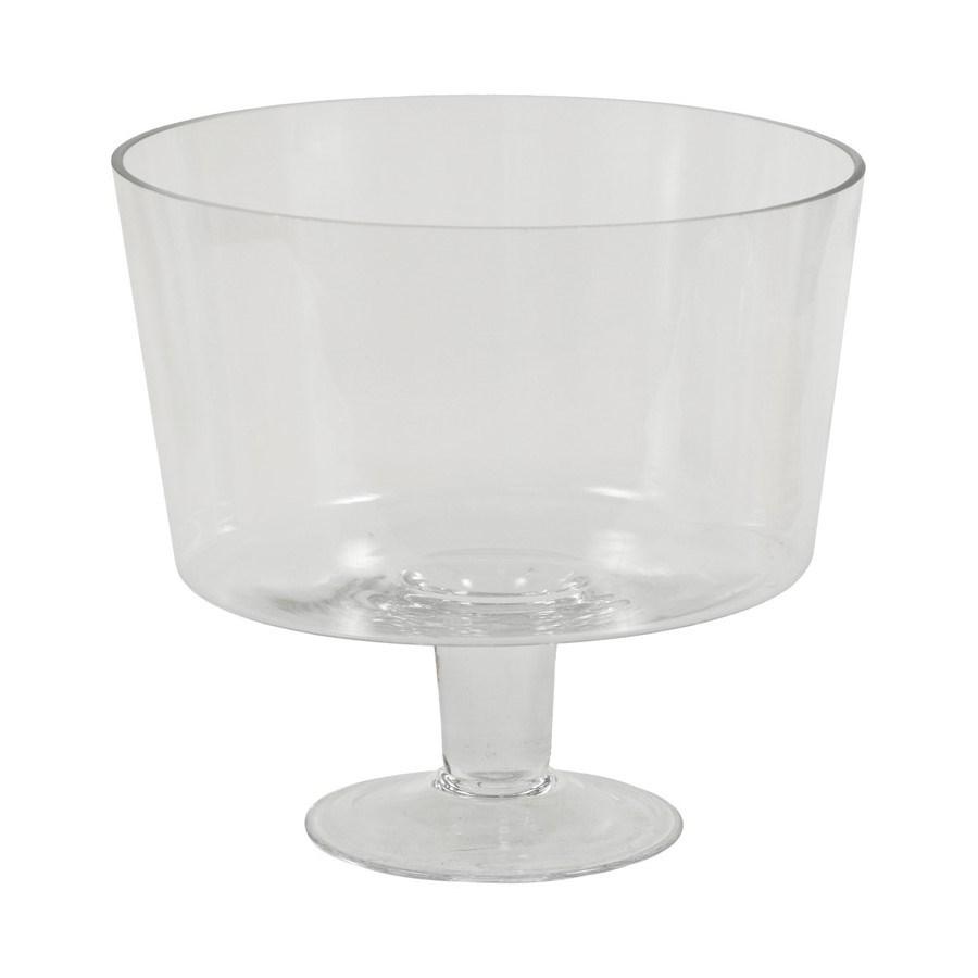 Autronic Sklenená váza Bowl, 24 cm