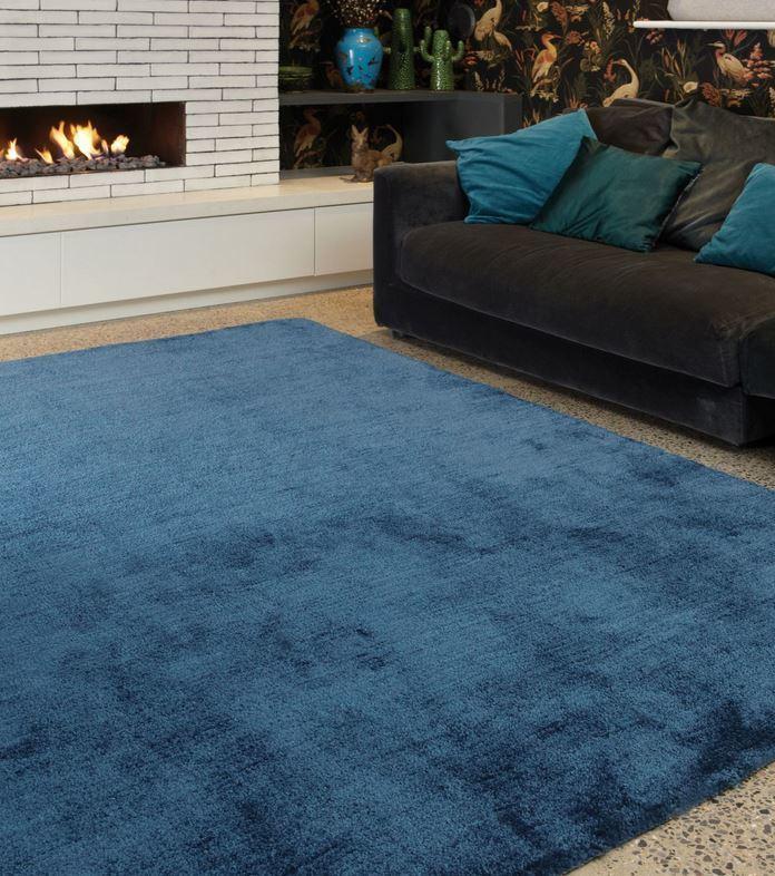 Tula koberec - tmavá/modrozelená
