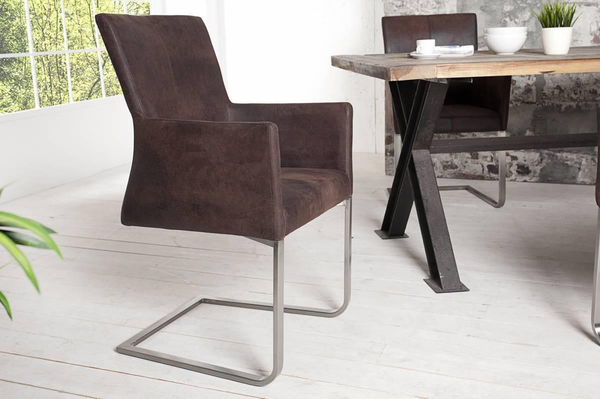 Jedálenská stolička SEMSON - kávová