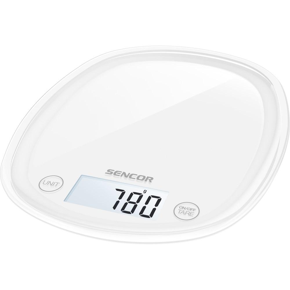 Sencor SKS 30WH kuchynská váha, biela,