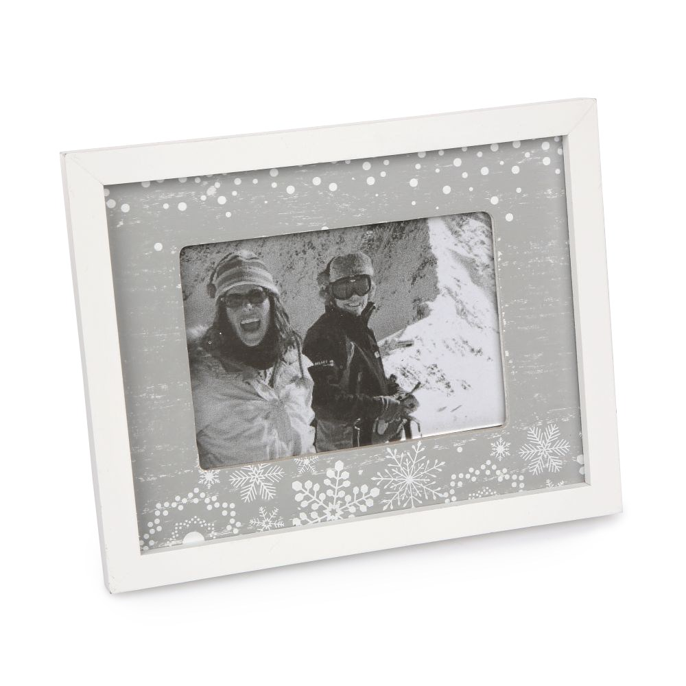 Altom Fotorámček Love Winter sivá, 20 x 16 cm