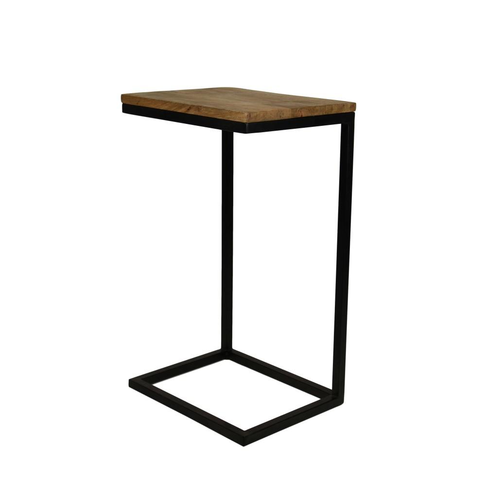 Odkladací stolík z mangového dreva HSM Collection Read, 30 x 38 cm
