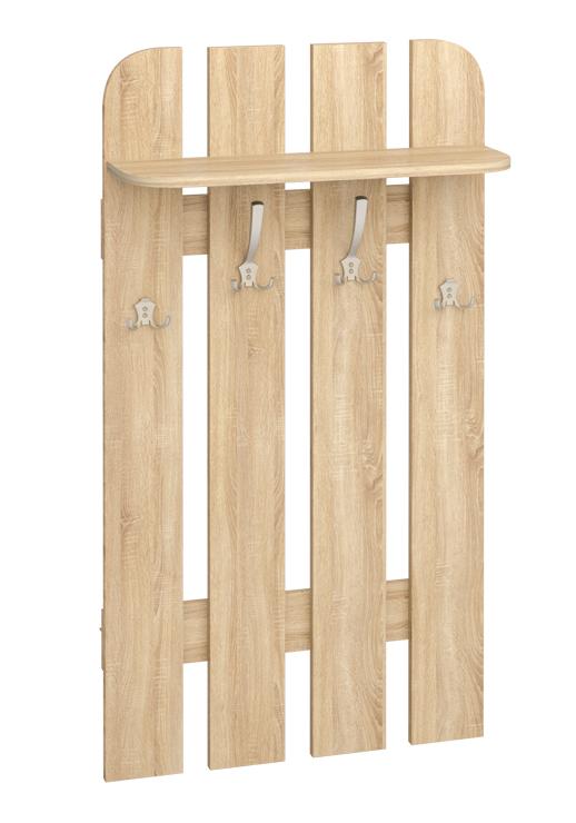 Vešiakový panel W 70-01   Farba: dub sonoma