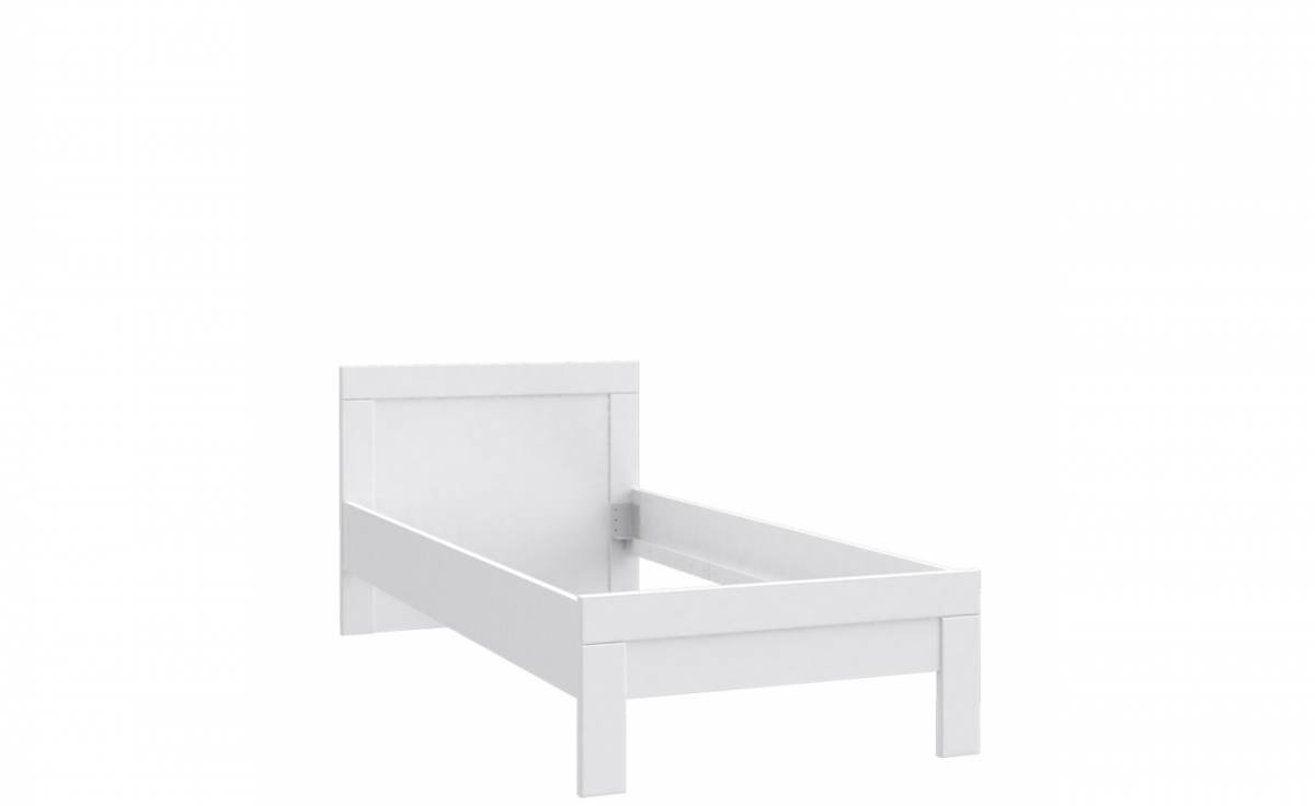 Jednolôžková posteľ SNOW SNWL09