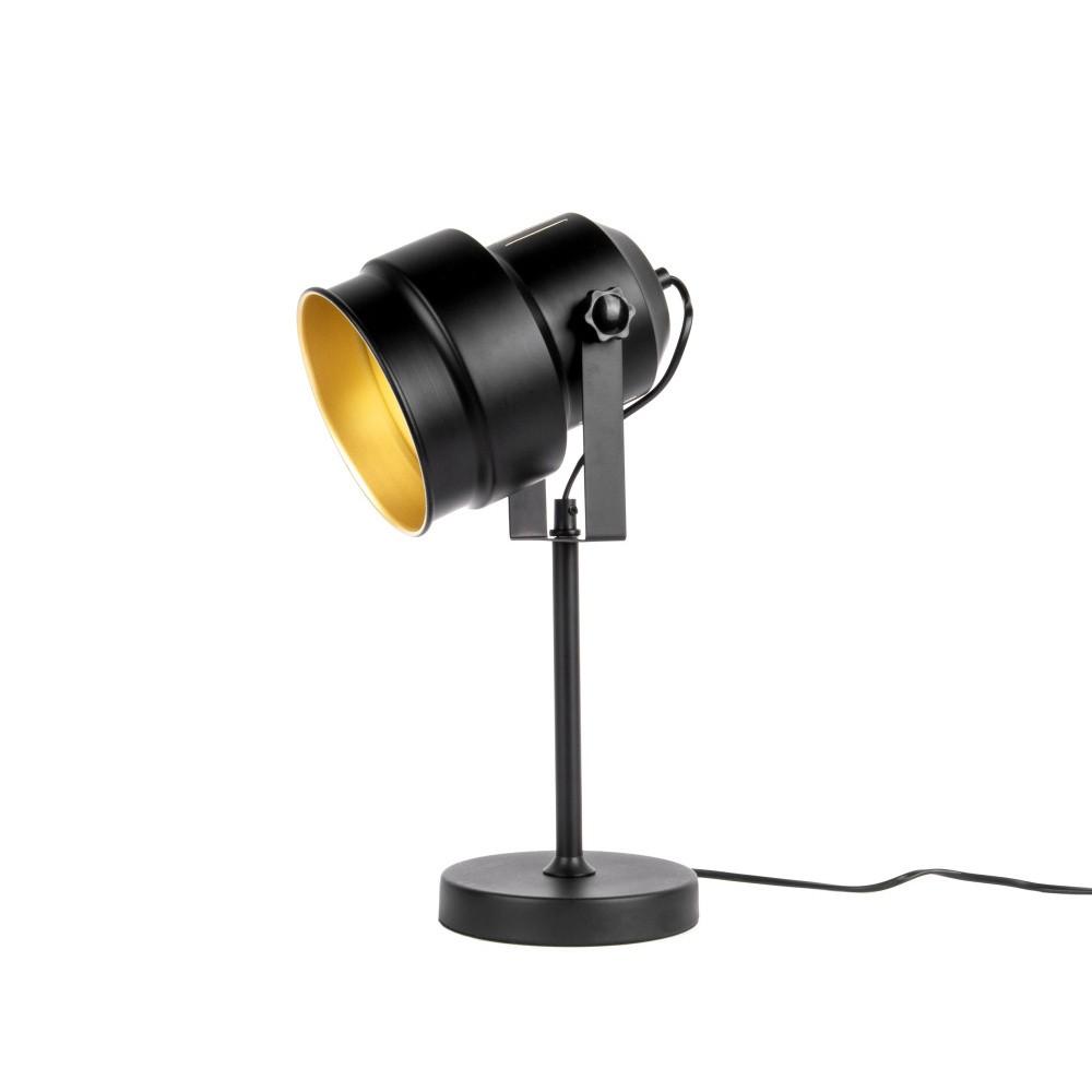 Čierna stolová lampa Leitmotiv Studio