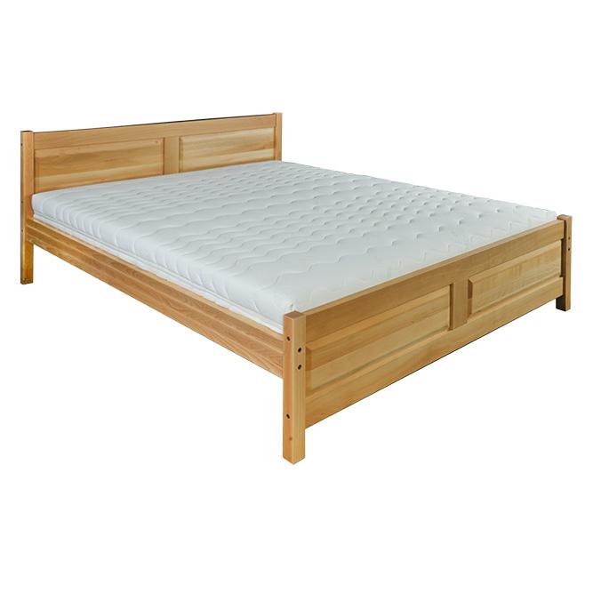 Manželská posteľ 140 cm LK 109 (buk) (masív)