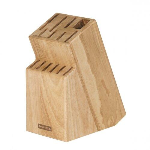 Tescoma Blok WOODY pre 13 nožov, nožnice/ocieľku