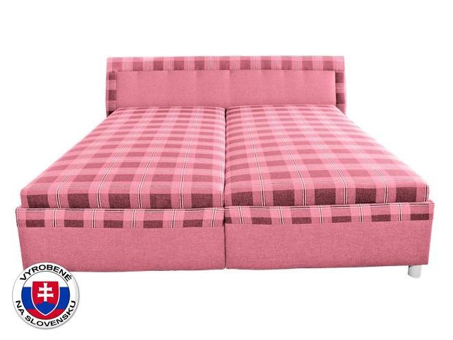 Manželská posteľ 180 cm Klaudia (s molitanovým matracom)
