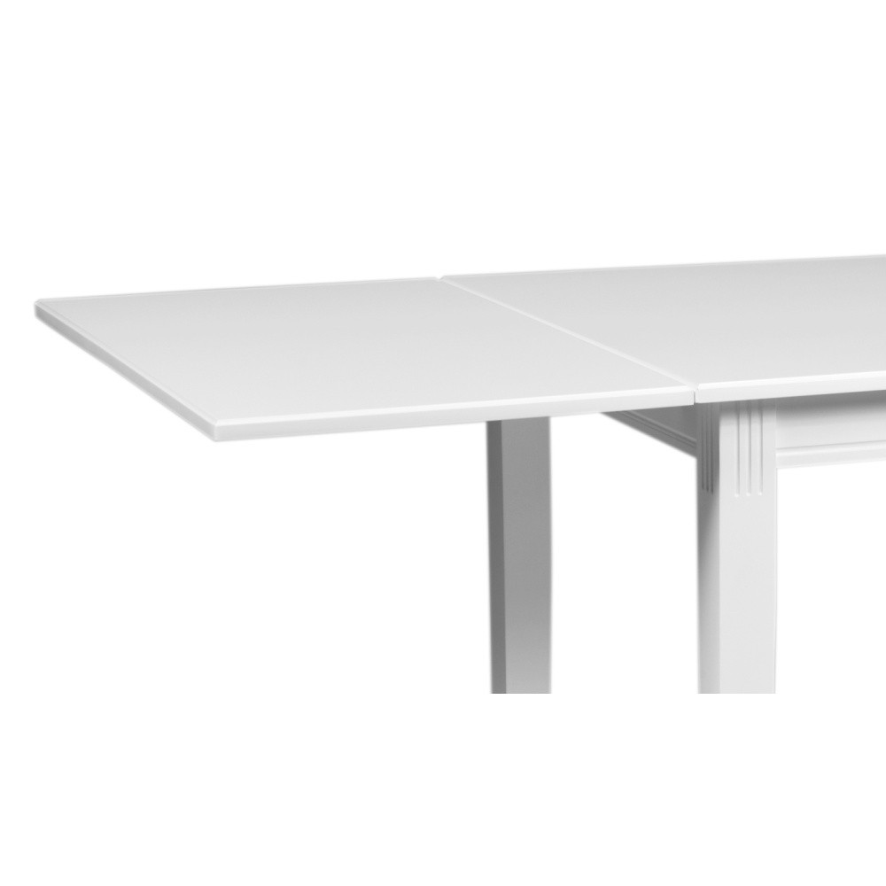 Biela dubová prídavná doska k jedálenskému stolu Folke Pegasus