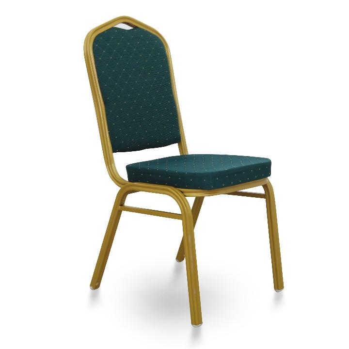 Stohovateľná stolička ZINA NEW   Farba: Zelená