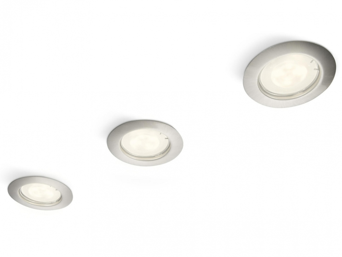 Philips LUNAR 59143/17/16 podhľadové svietidlo (sada 3ks LED)