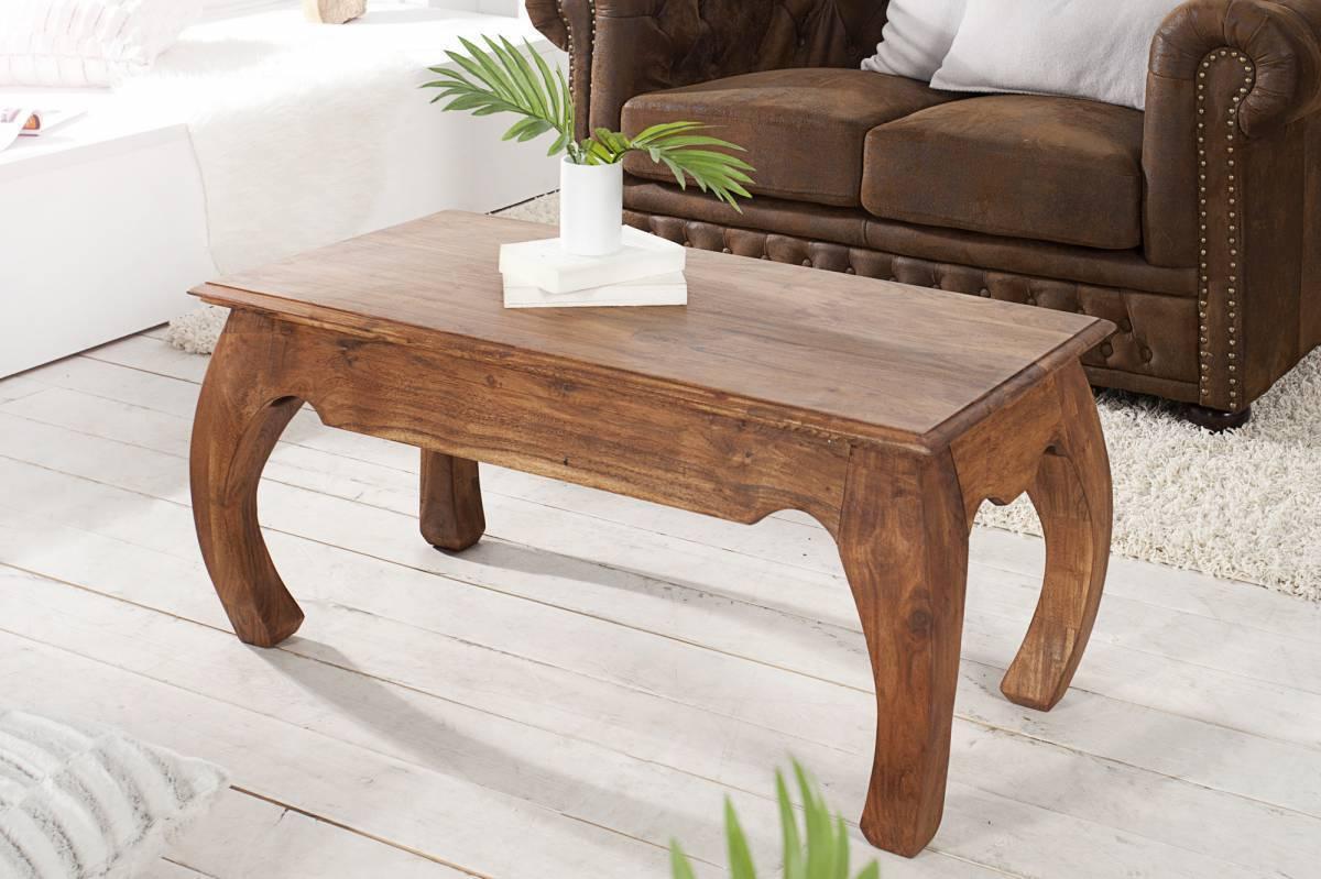 Konferenčný stolík OPIUM 100 cm - prírodná