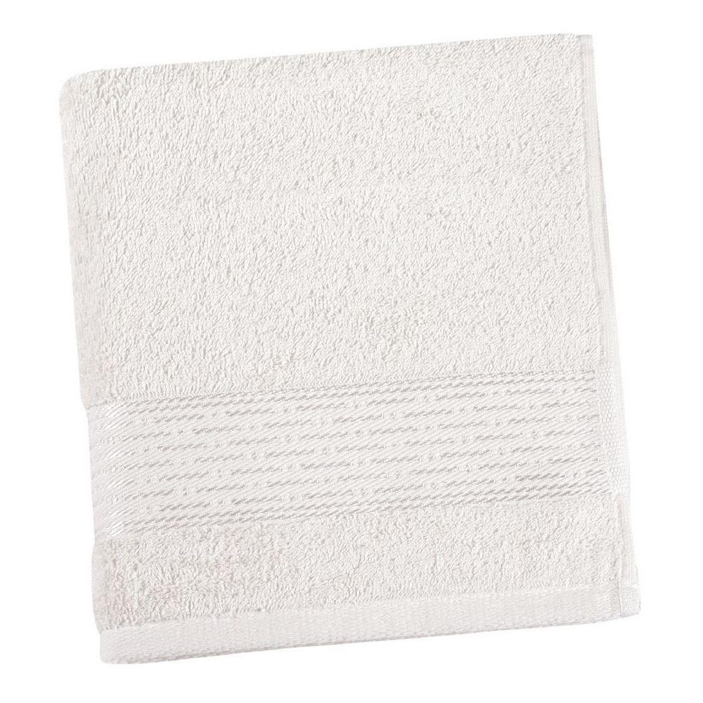 Bellatex Froté uterák Kamilka prúžok biela, 50 x 100 cm
