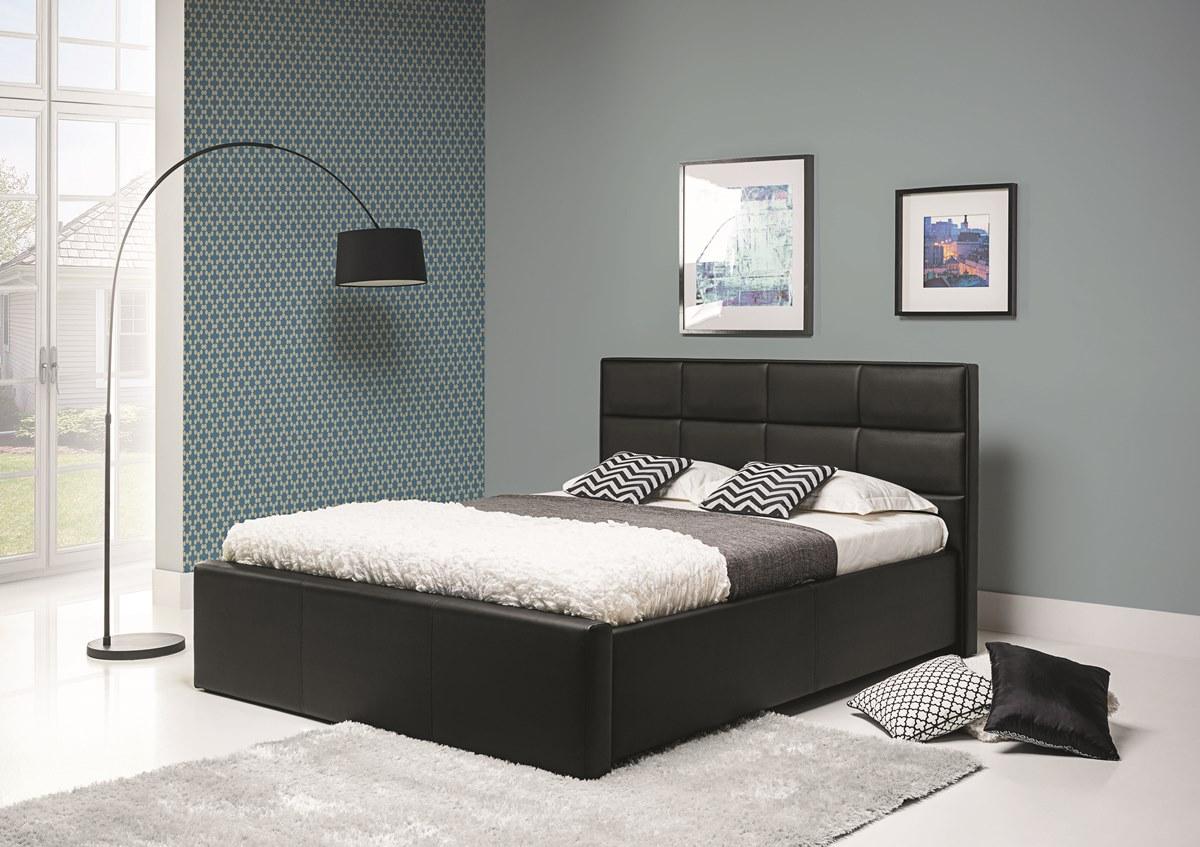 BOG-FRAN LIONEL 180 posteľ - čierna