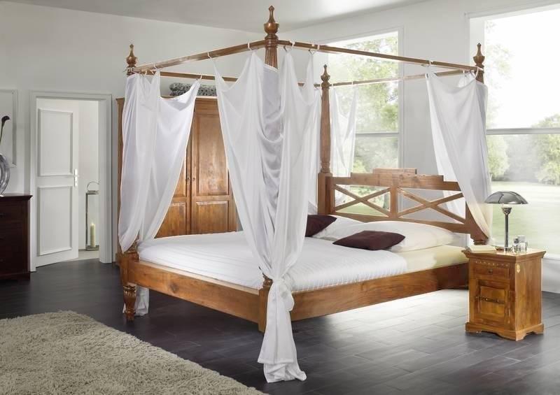 OXFORD HONIG posteľ #0247 masívny agát 200x200