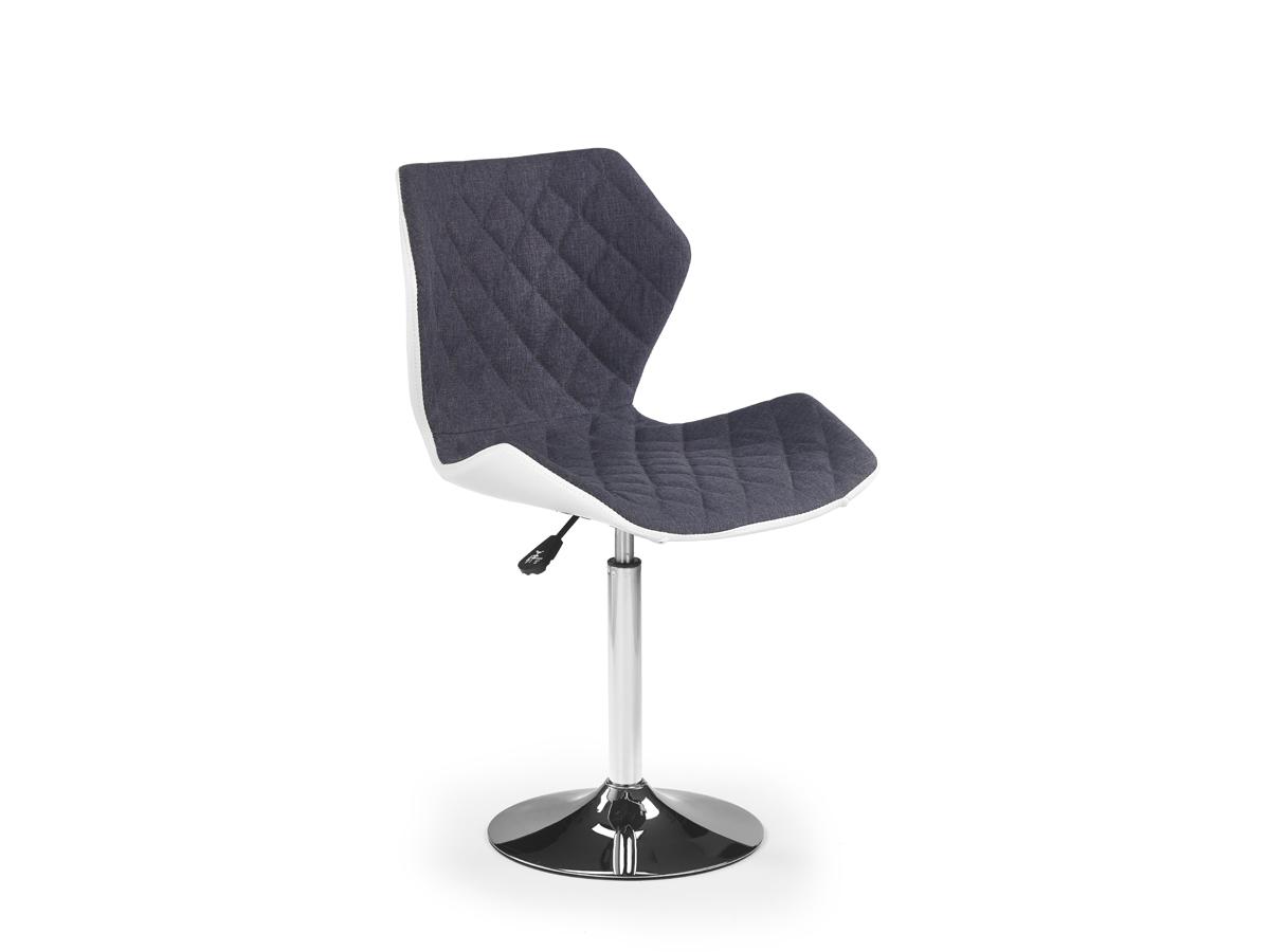 Barová stolička Matrix 2 (sivá + biela)