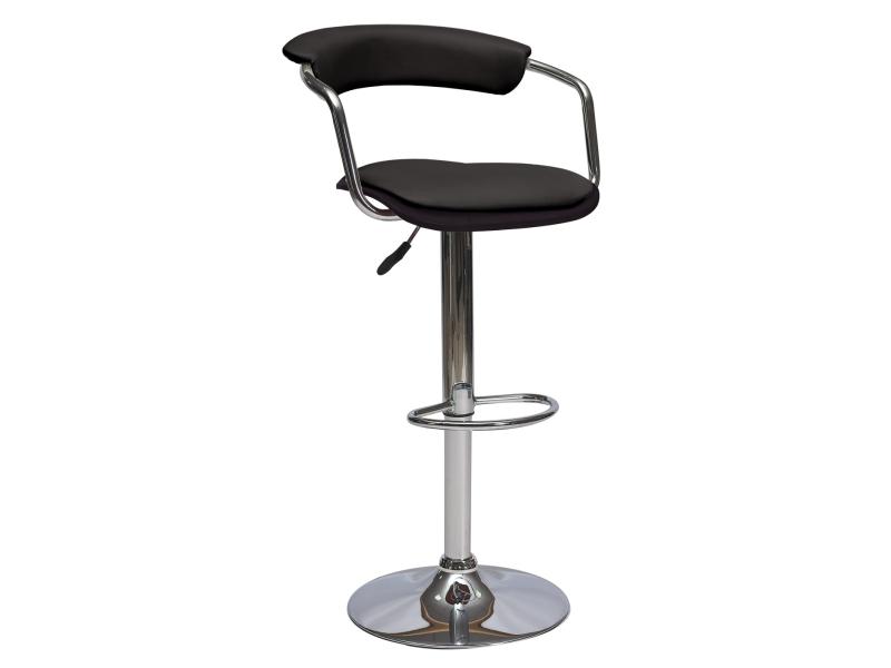 CB-973 barová stolička, wenge/čierna
