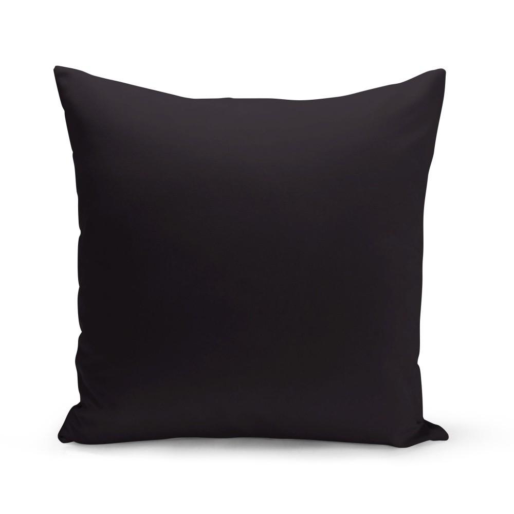 Čierny vankúš Kate Louise Simplo, 43 x 43 cm
