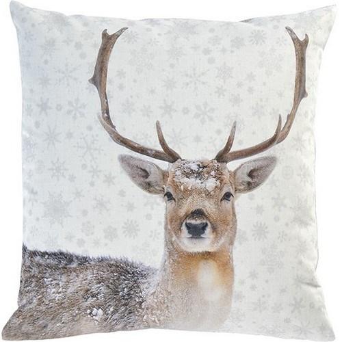 Sander Dekoračný vankúšik Snow deer 45 x 45 cm