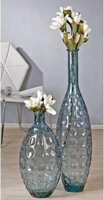 Váza AURA S - modro-sivá