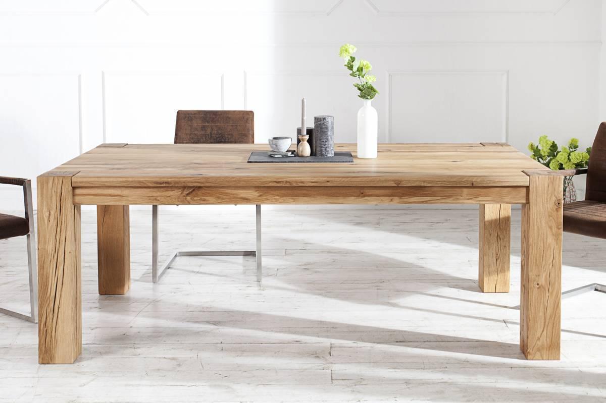 Jedálenský stôl WILDOK 160 cm - prírodná