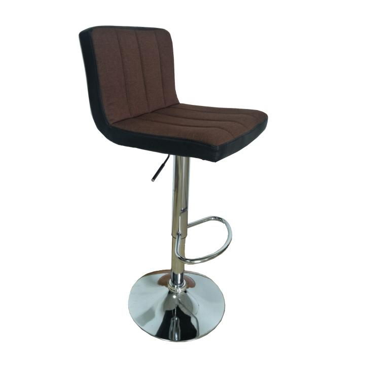 TEMPO KONDELA Barová stolička, hnedá/čierna, HILDA