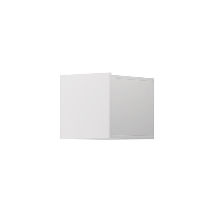 TEMPO KONDELA Závesná skrinka, biela, Spring ED30
