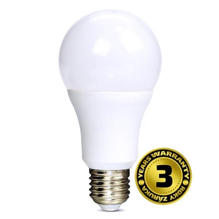 Solight LED Žiarovka 12W, E27, 4000K, 270°, 1010lm, denná biela