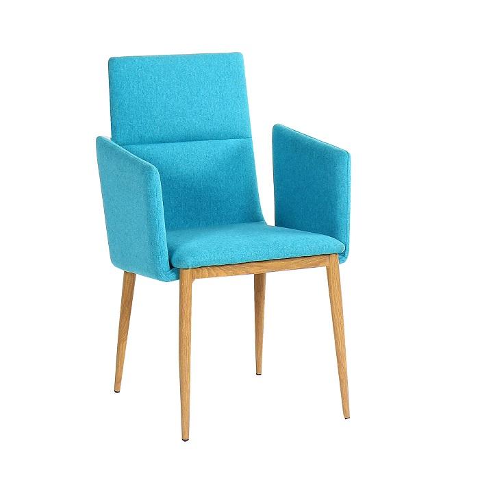 Jedálenská stolička Jenner (tyrkysová)