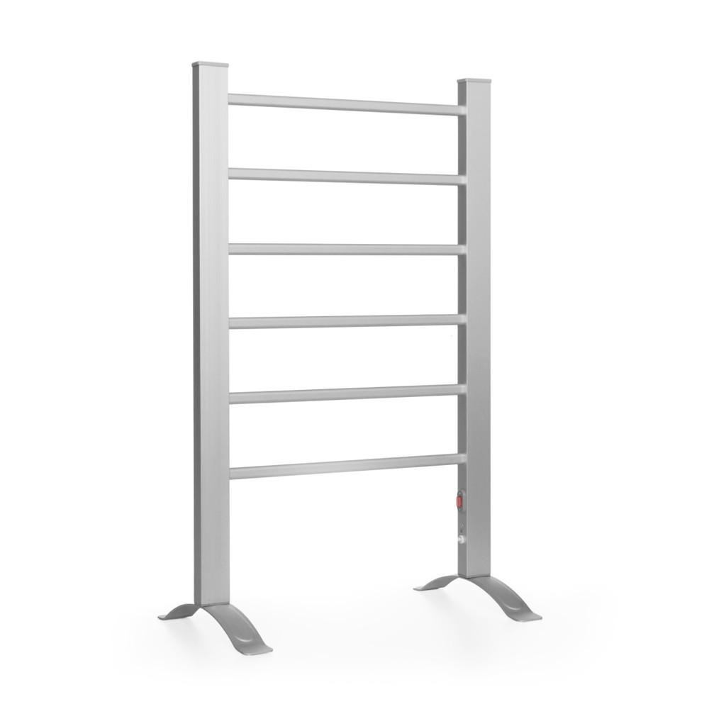Sivý elektrický rebrík na uteráky InnovaGoods Towel Rail