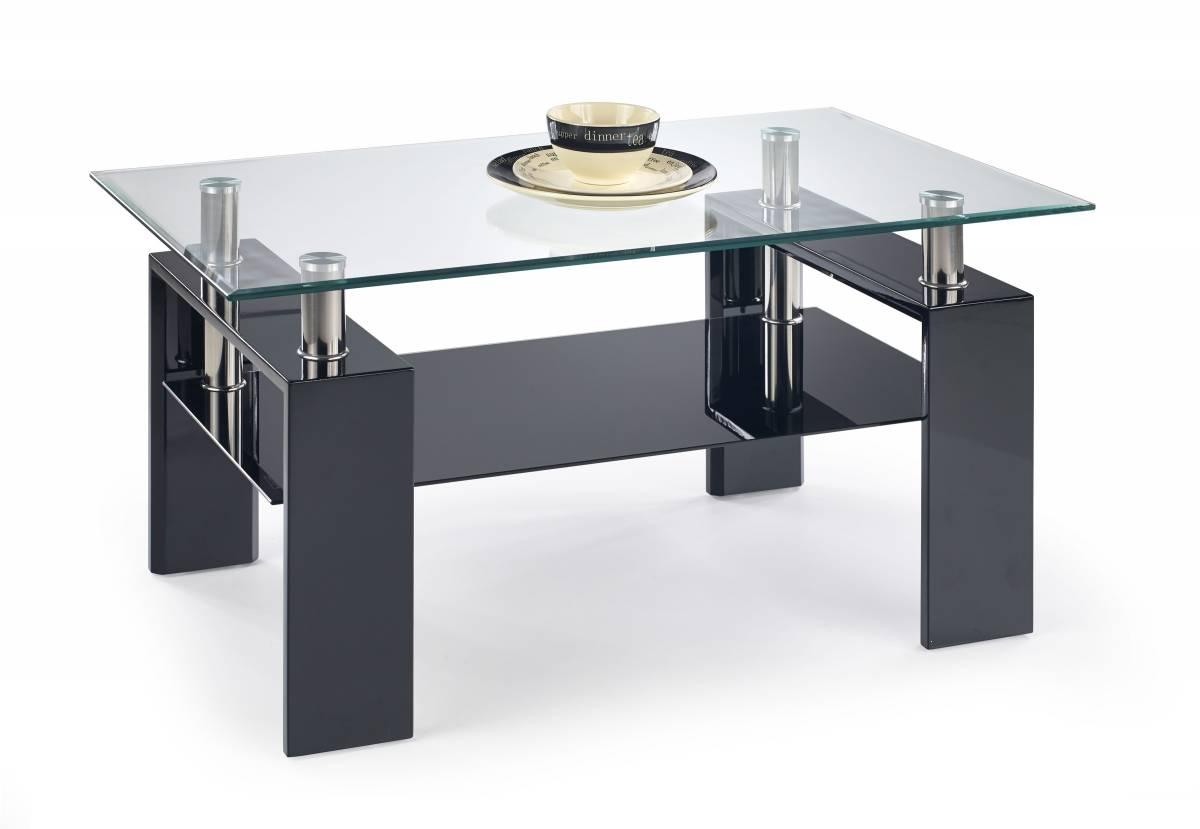 Konferenčný stolík DIANA H čierna