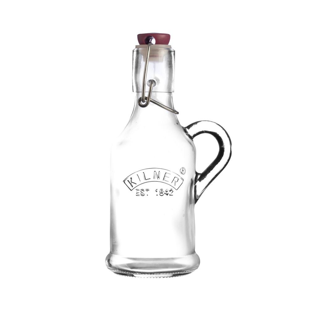 Fľaša na likér s klipom Kilner, 0,2 l