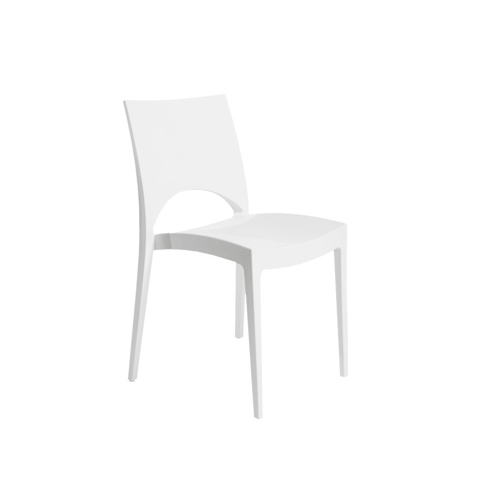 Biela stolička Esidra Eduardo