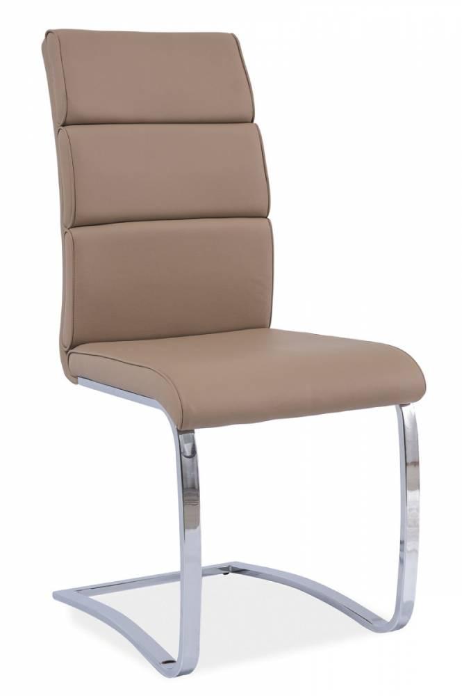 Jedálenská stolička HK-456, tmavobéžová